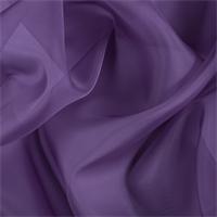 Violet Silk Organza