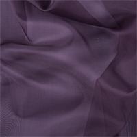 Aubergine Silk Organza