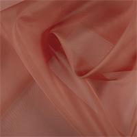 Tangerine Silk Organza