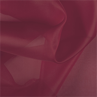 Red Silk Organza