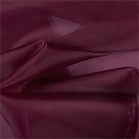 Wine Silk Organza