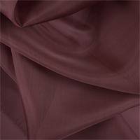Rust Silk Organza