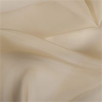 Gold Silk Organza