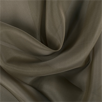 Olive Brown Silk Organza