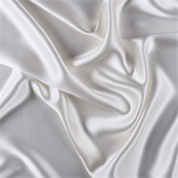 Ivory Silk Crepe Back Satin