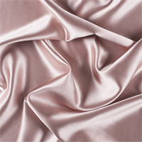 Nude Silk Crepe Back Satin