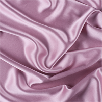Rose Silk Crepe Back Satin