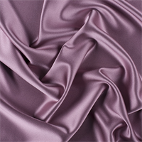 Mauve Silk Crepe Back Satin