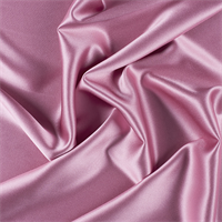 Carnation Pink Silk Crepe Back Satin