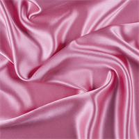 Hot Pink Silk Crepe Back Satin