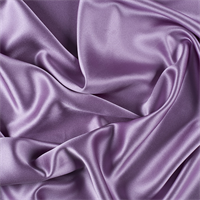 Lavender Silk Crepe Back Satin