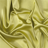 Chartreuse Silk Crepe Back Satin