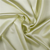 Pale Green Silk Crepe Back Satin