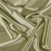 Peridot Silk Crepe Back Satin