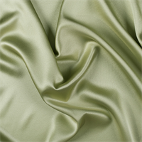 Celery Silk Crepe Back Satin