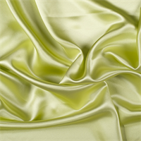 Light Lime Silk Crepe Back Satin