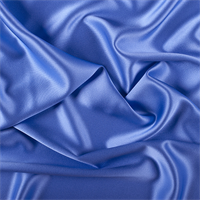 Periwinkle Silk Crepe Back Satin