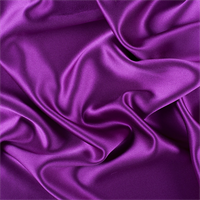 Grape Silk Crepe Back Satin