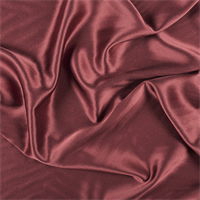 Copper Silk Crepe Back Satin