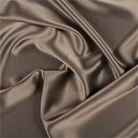 Latte Silk Crepe Back Satin