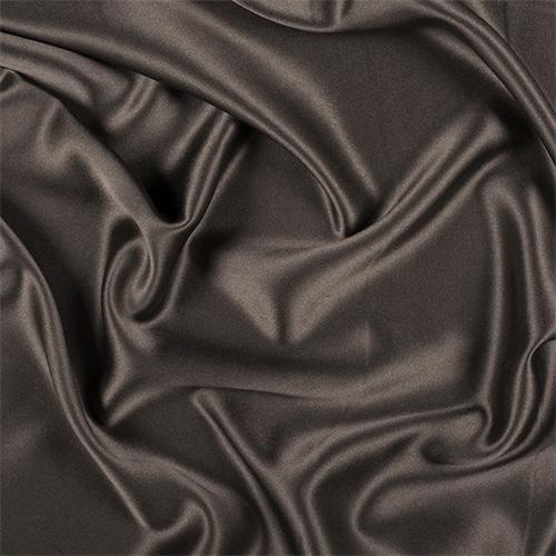 Dark Brown Silk Crepe Back Satin 8000m189 Fashion Fabrics