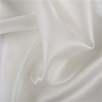 Eggshell Silk Satin Organza
