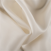 Soft Yellow Silk Satin Organza