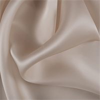 Pale Peach Silk Satin Organza