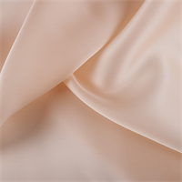 Bisque Silk Satin Organza