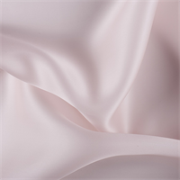 Blush Pink Silk Satin Organza