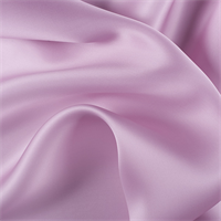 Rose Silk Satin Organza