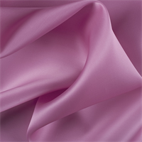 Carnation Pink Silk Satin Organza
