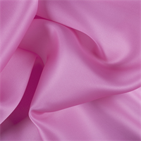 Hot Pink Silk Satin Organza