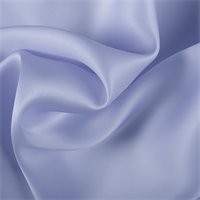 Light Blue Silk Satin Organza