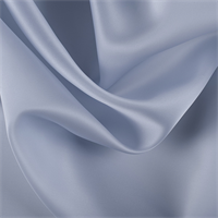Steel Blue Silk Satin Organza