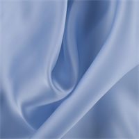 Sky Blue Silk Satin Organza