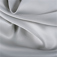 Light Gray Silk Satin Organza