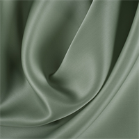 Dark Sage Silk Satin Organza