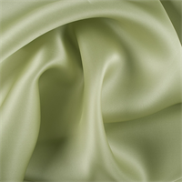 Celery Silk Satin Organza