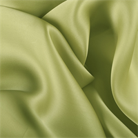 Light Lime Silk Satin Organza