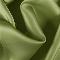 Apple Green Silk Satin Organza