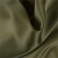 Moss Green Silk Satin Organza