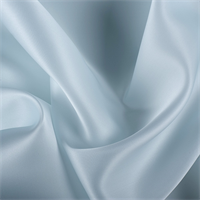 Pale Blue Silk Satin Organza