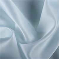 Pale Blue Silk Satin Organza