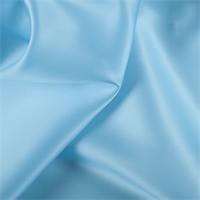 Aqua Silk Satin Organza