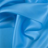 Turquoise Silk Satin Organza