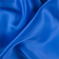 Sapphire Silk Satin Organza