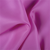 Fuschia Silk Satin Organza