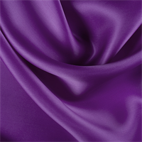 Grape Silk Satin Organza