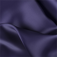 Dark Purple Silk Satin Organza